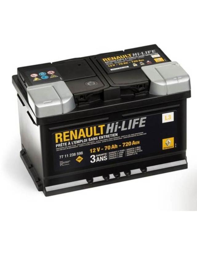 Аккумулятор Renault